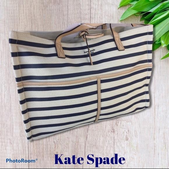 kate spade Handbags - Kate Spade Washington Square Sam Canvas Handbag